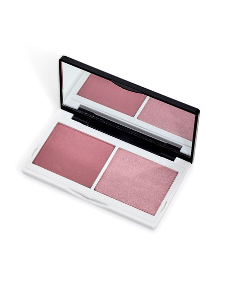 Colorete Compacto Duo Naked Pink. Lily Lolo