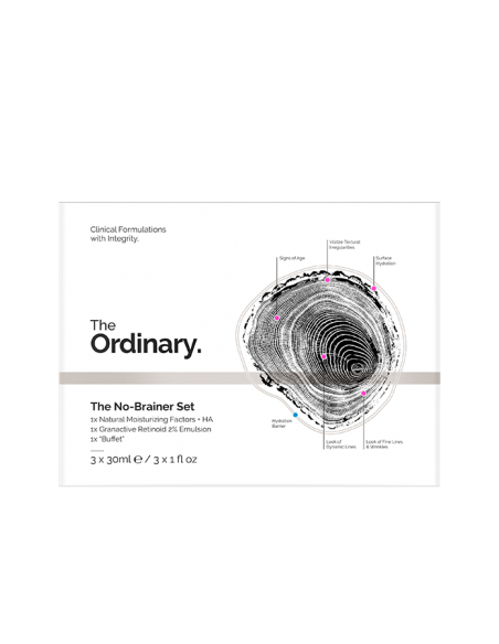 the no brainer set. The Ordinary