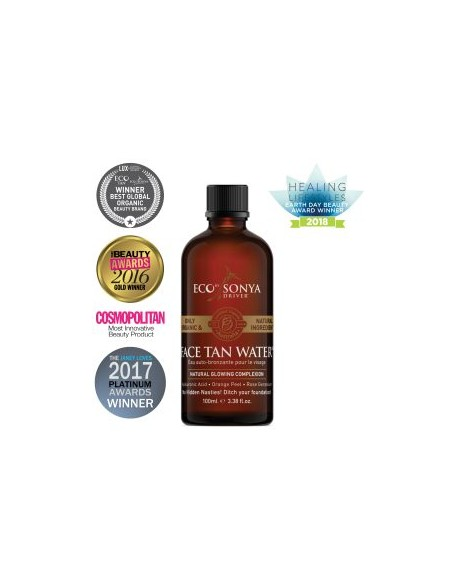 Tónico Facial Autobronceador. Face Tan Water. Eco Tan By Sonia Driver