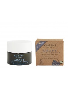 Crema de Noche con Vit. C. Super Fruit Vit. C Night Cream. Kueshi Naturals
