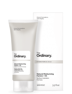 Natural Moisturizing Factors + HA (Factores humectantes naturales + HA). The Ordinary